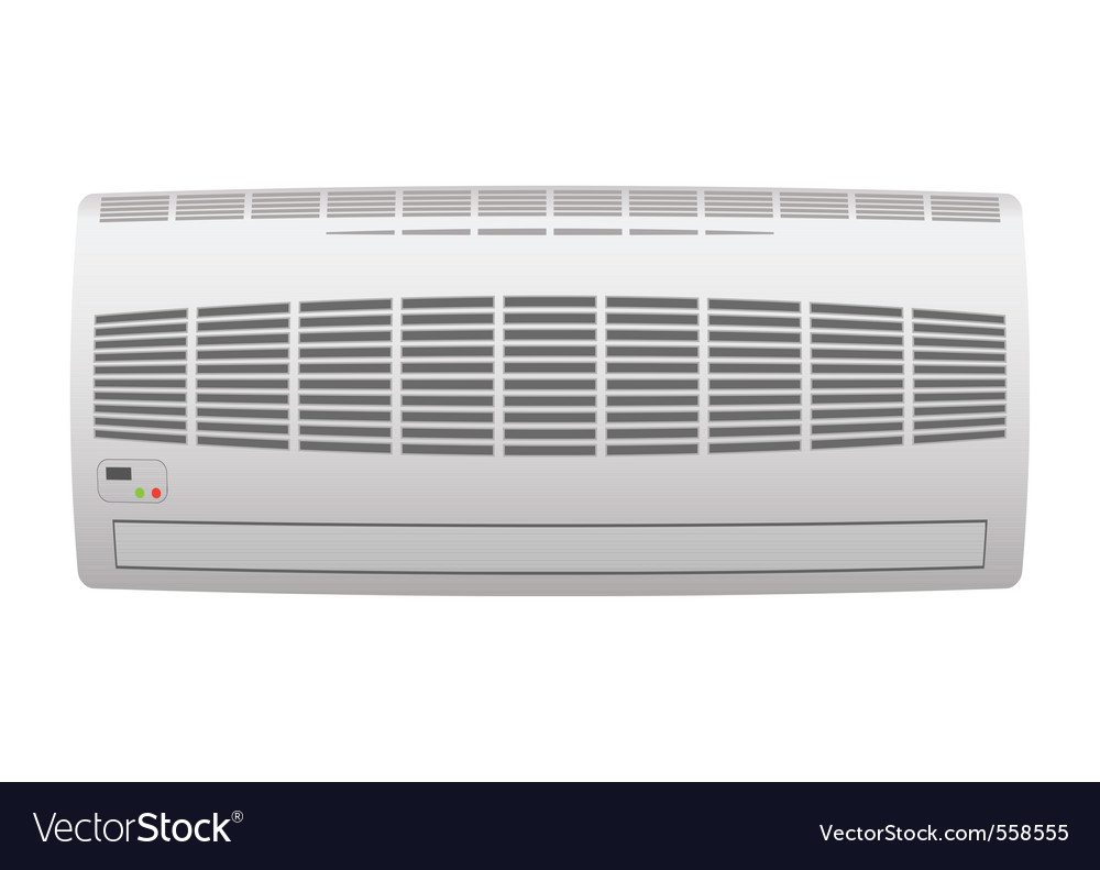 Modern air conditioner vector | Price: 1 Credit (USD $1)
