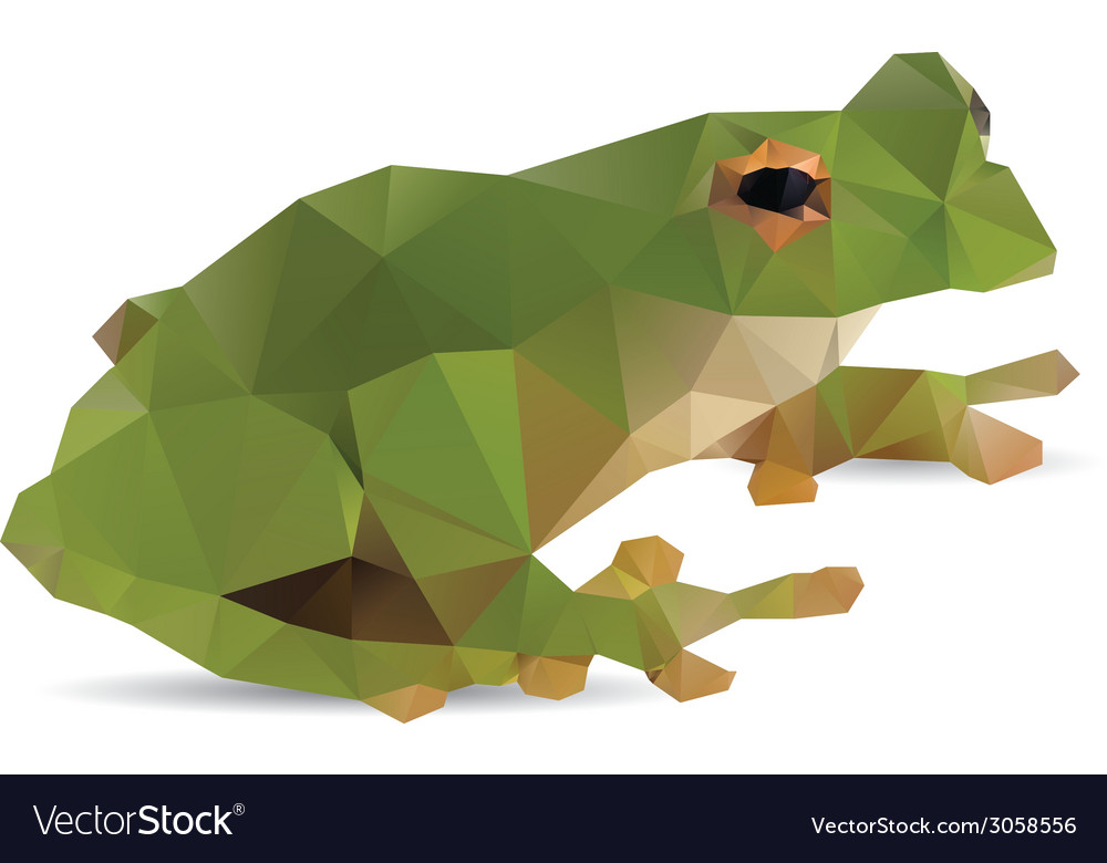 Frog abstract vector | Price: 1 Credit (USD $1)
