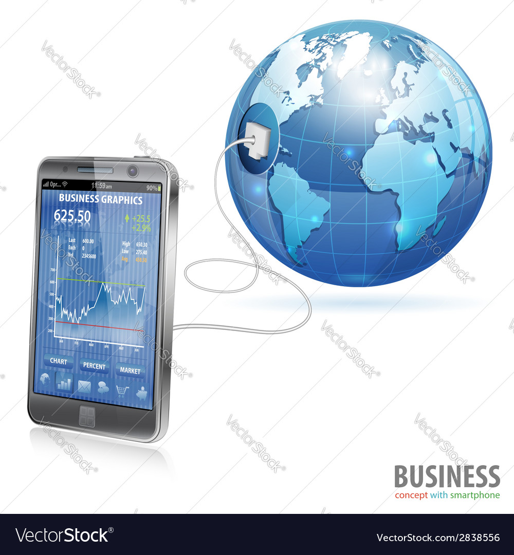 Global business concept vector | Price: 1 Credit (USD $1)