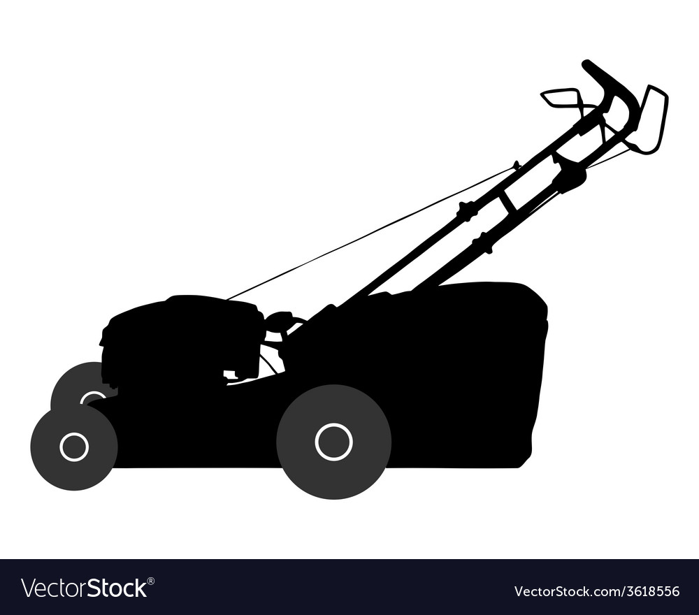Lawn-mower vector | Price: 1 Credit (USD $1)