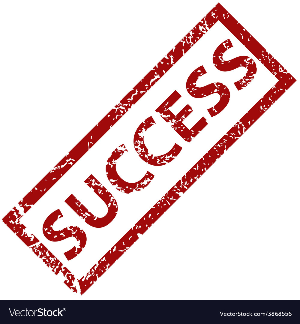 Success rubber stamp vector | Price: 1 Credit (USD $1)