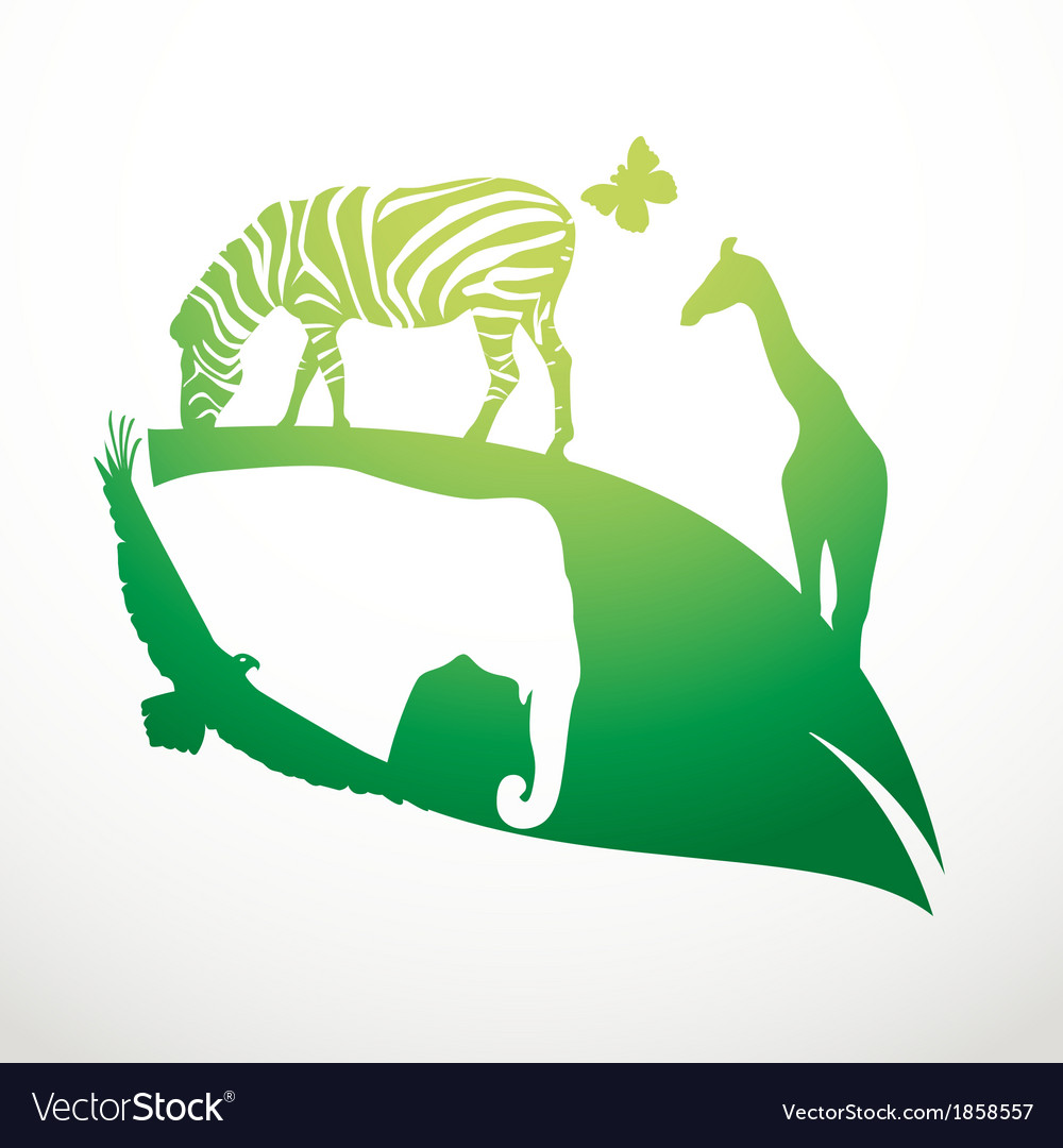 Animal life vector | Price: 1 Credit (USD $1)