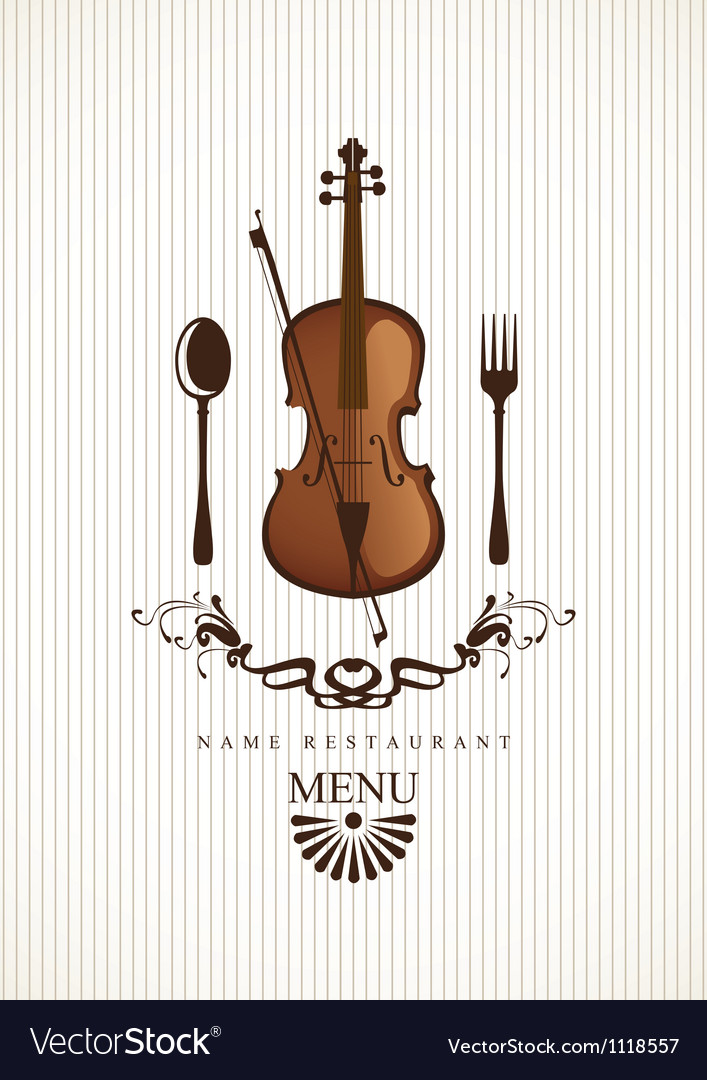Cafe menus for music vector | Price: 1 Credit (USD $1)
