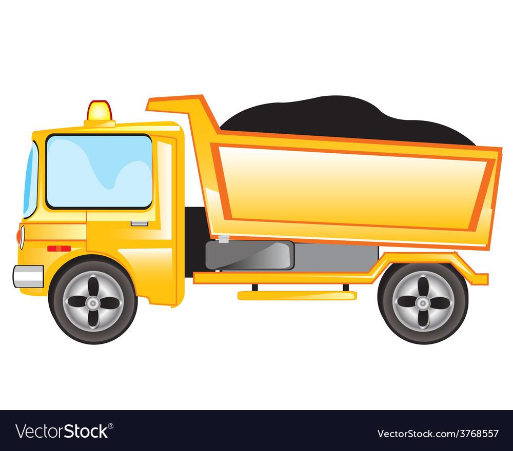 Cargo car vector | Price: 1 Credit (USD $1)