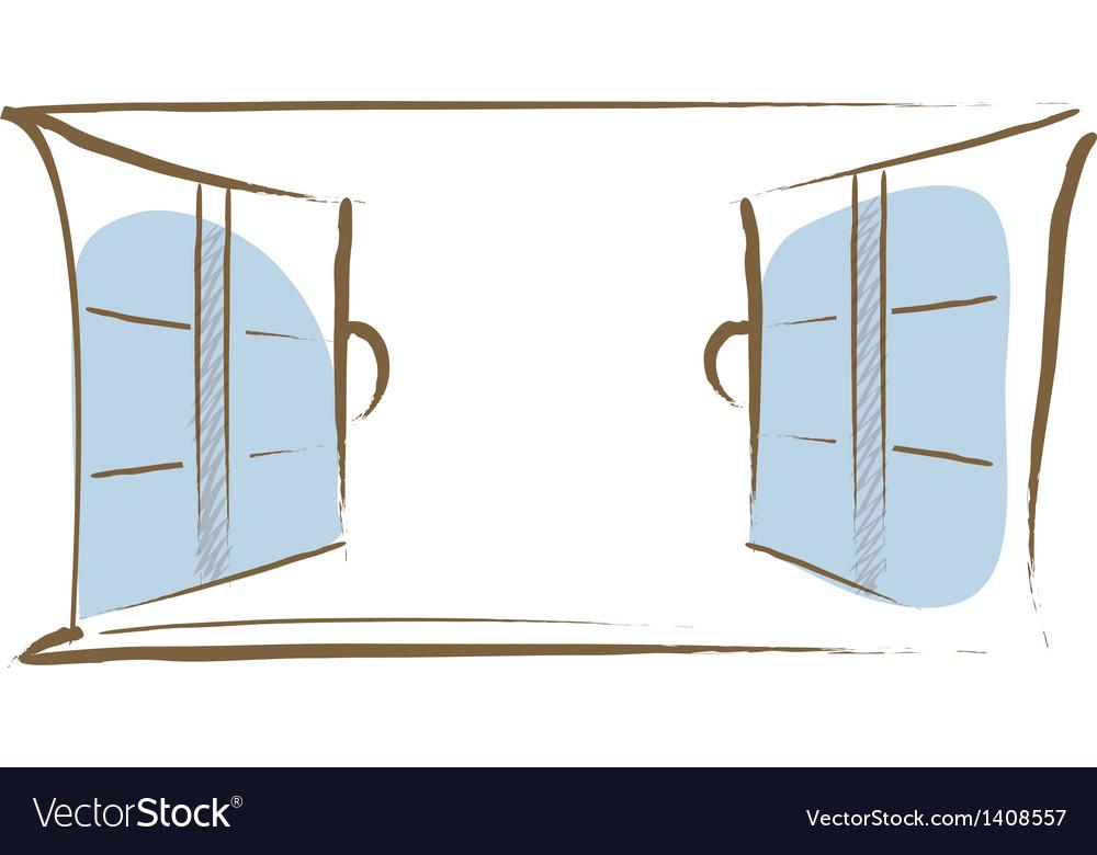 Icon window vector | Price: 1 Credit (USD $1)