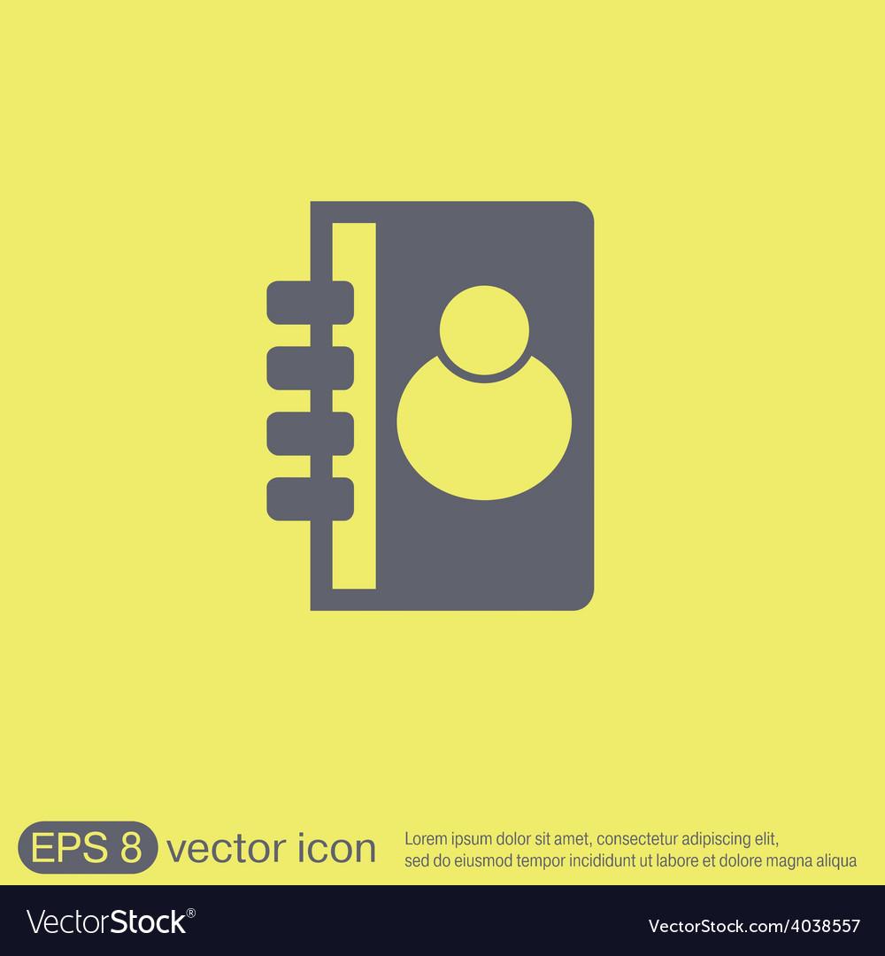 Phone address book vector | Price: 1 Credit (USD $1)