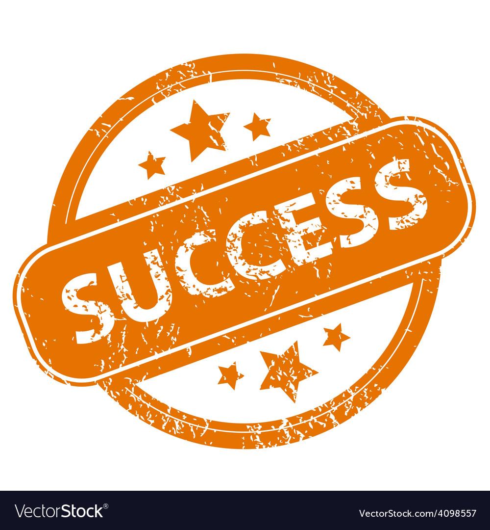 Success grunge icon vector   Price: 1 Credit (USD $1)