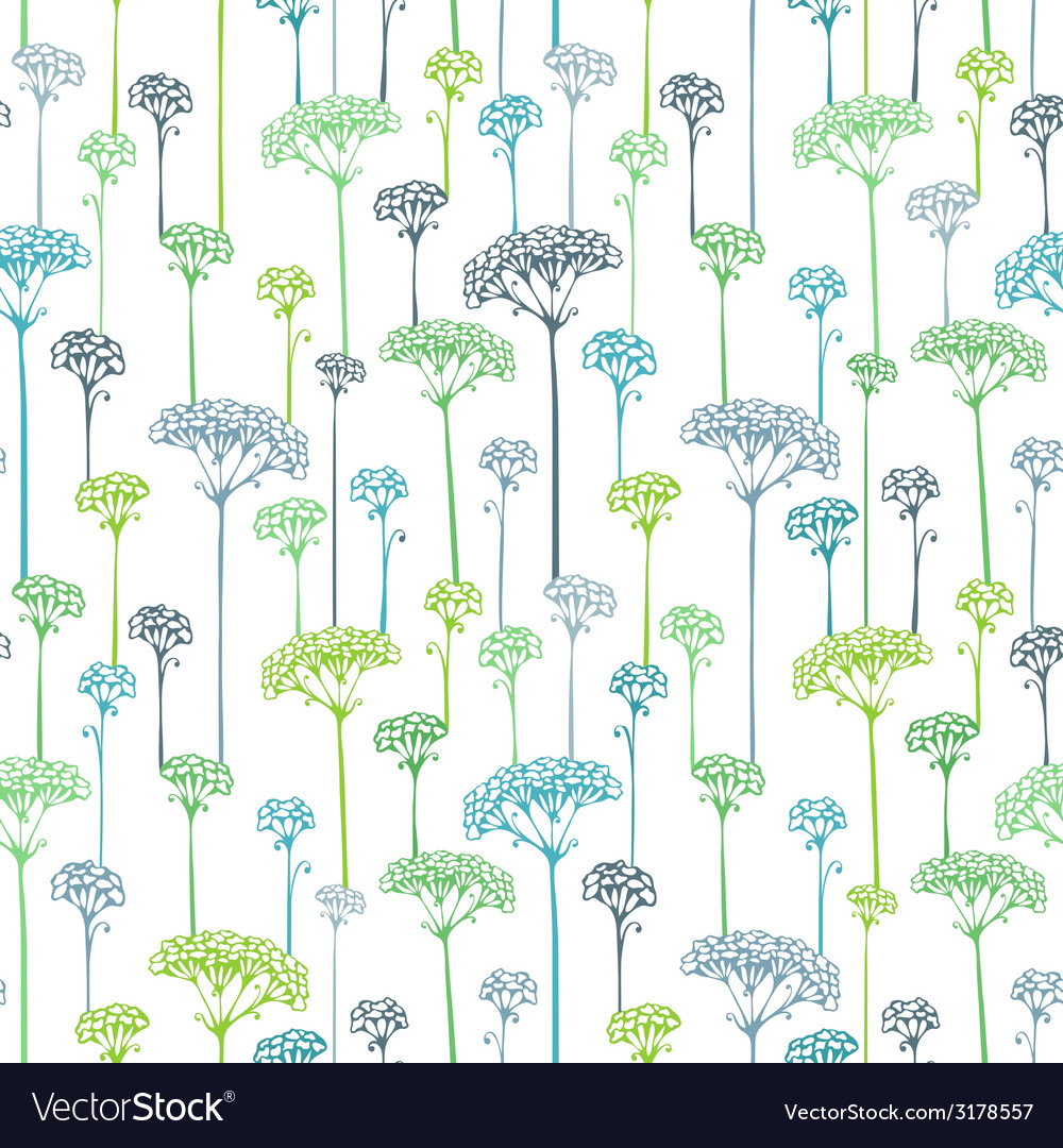 Various grass and floral elements for your design vector   Price: 1 Credit (USD $1)