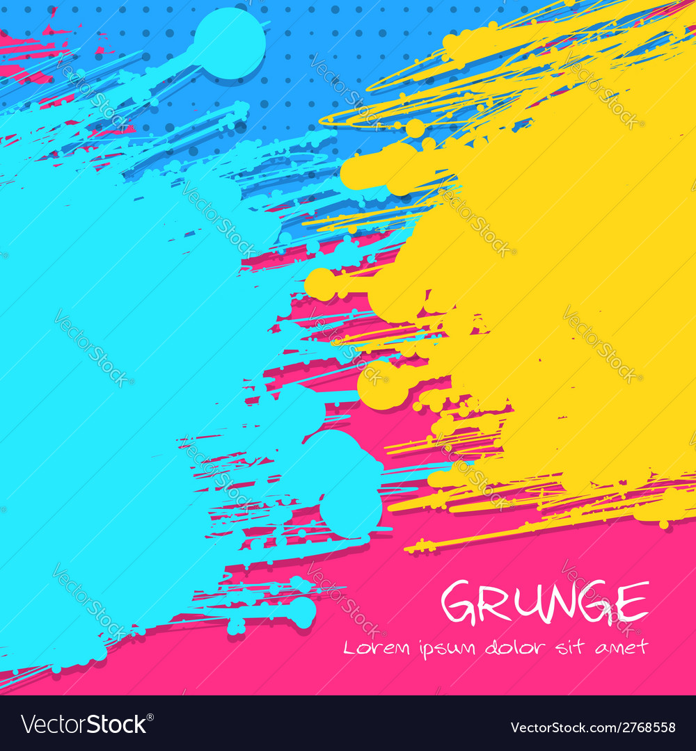 Multicolor grunge background vector | Price: 1 Credit (USD $1)