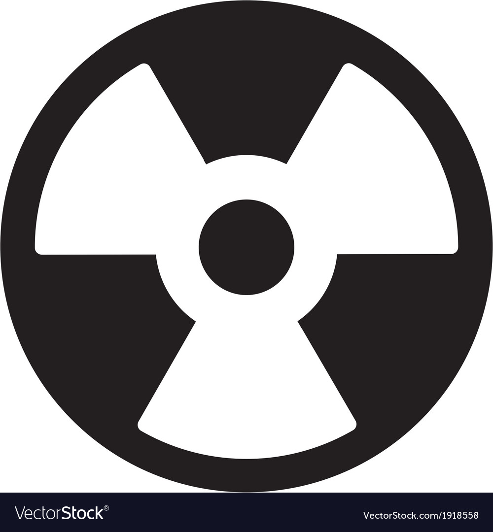 Radiation symbol vector | Price: 1 Credit (USD $1)