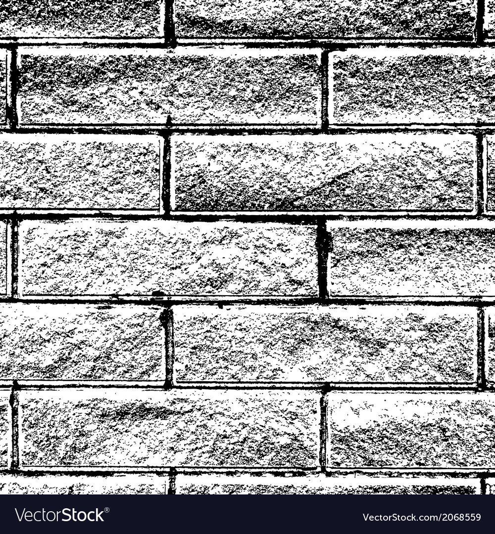 Background distressed brick vector | Price: 1 Credit (USD $1)