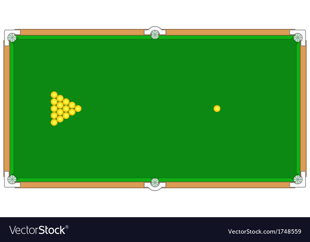 Billiard vector | Price: 1 Credit (USD $1)