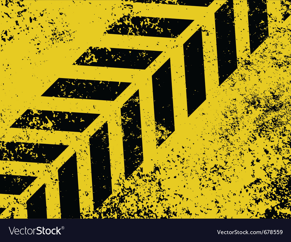 Grungy hazard strip vector | Price: 1 Credit (USD $1)
