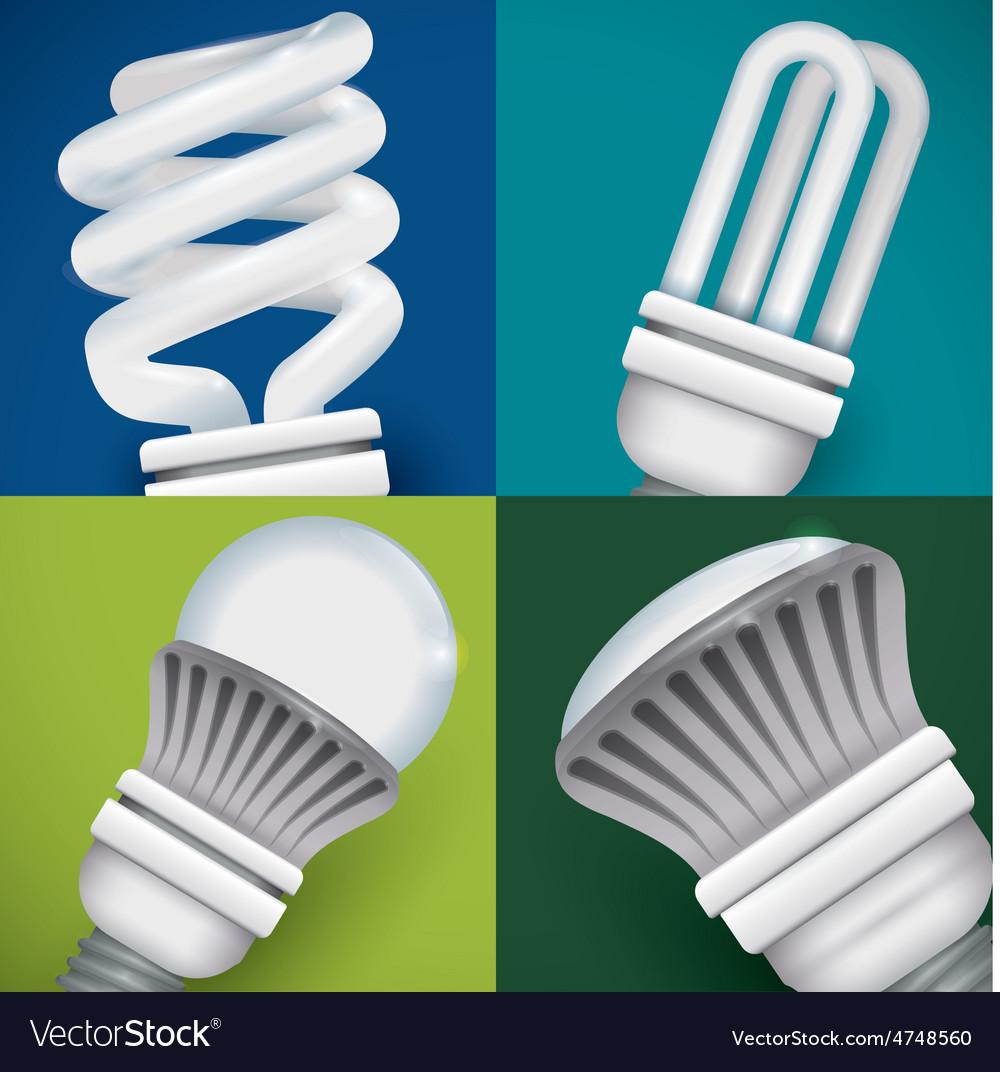 Bulb design vector | Price: 1 Credit (USD $1)