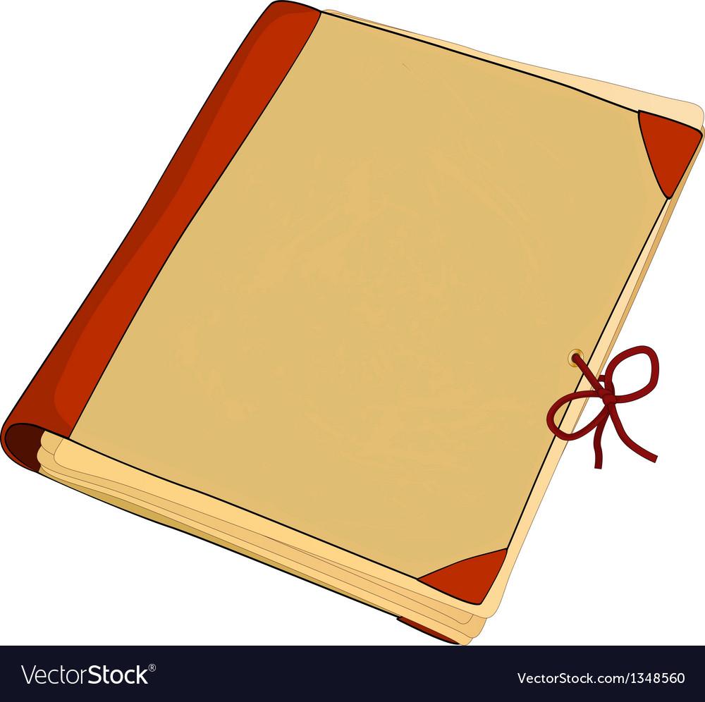 Old folder vector | Price: 1 Credit (USD $1)