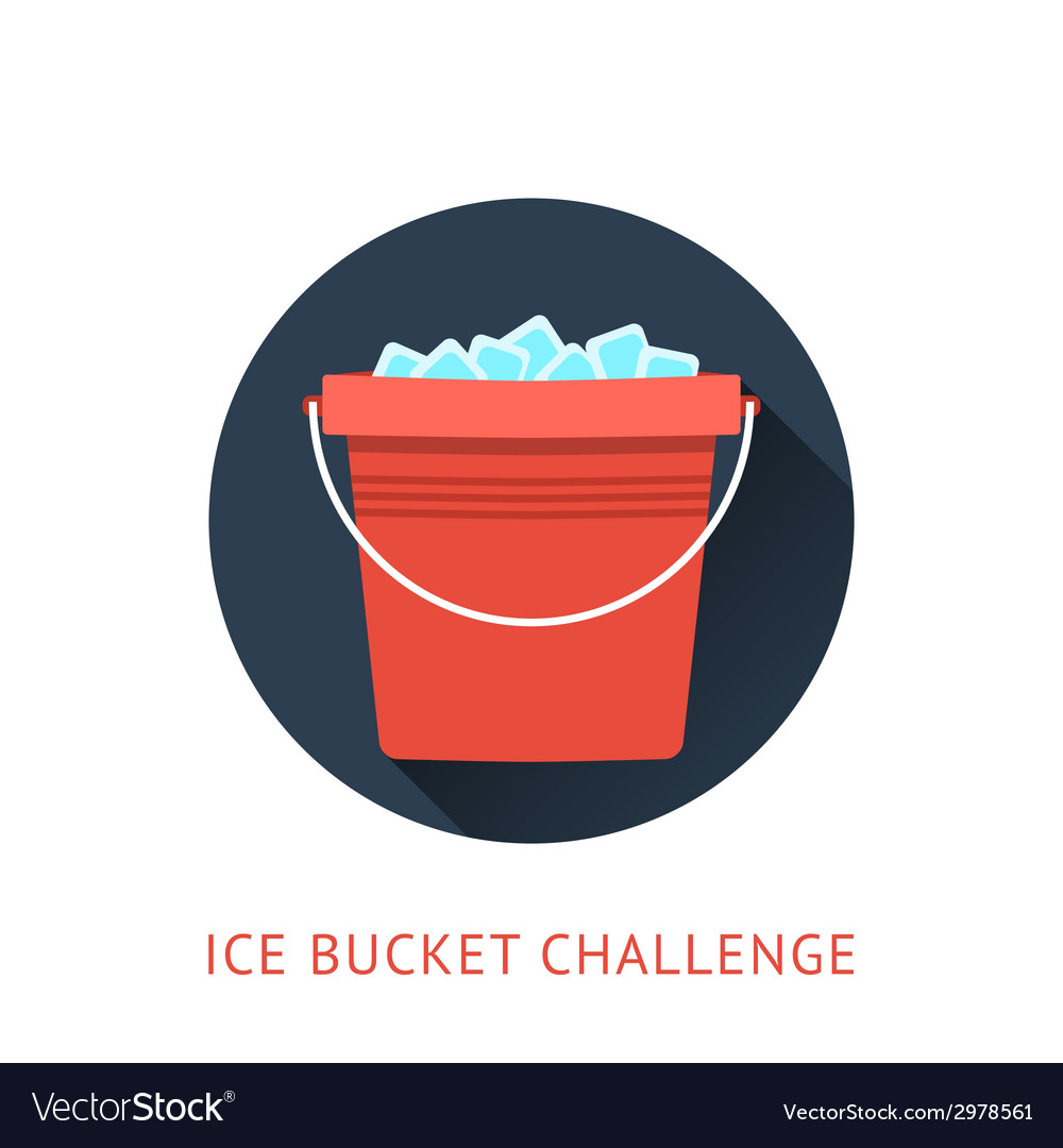 Als ice bucket challenge concept vector | Price: 1 Credit (USD $1)