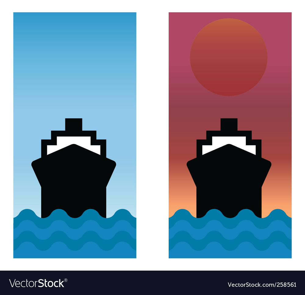 Boat set vector | Price: 1 Credit (USD $1)