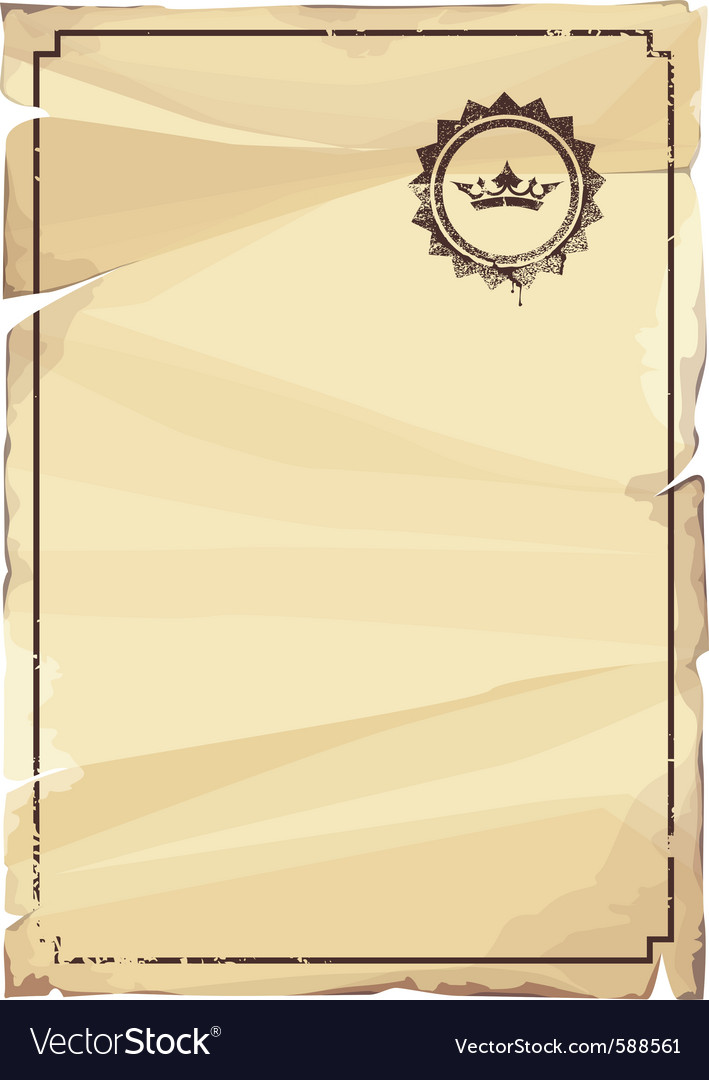 Grungy parchment vector | Price: 1 Credit (USD $1)