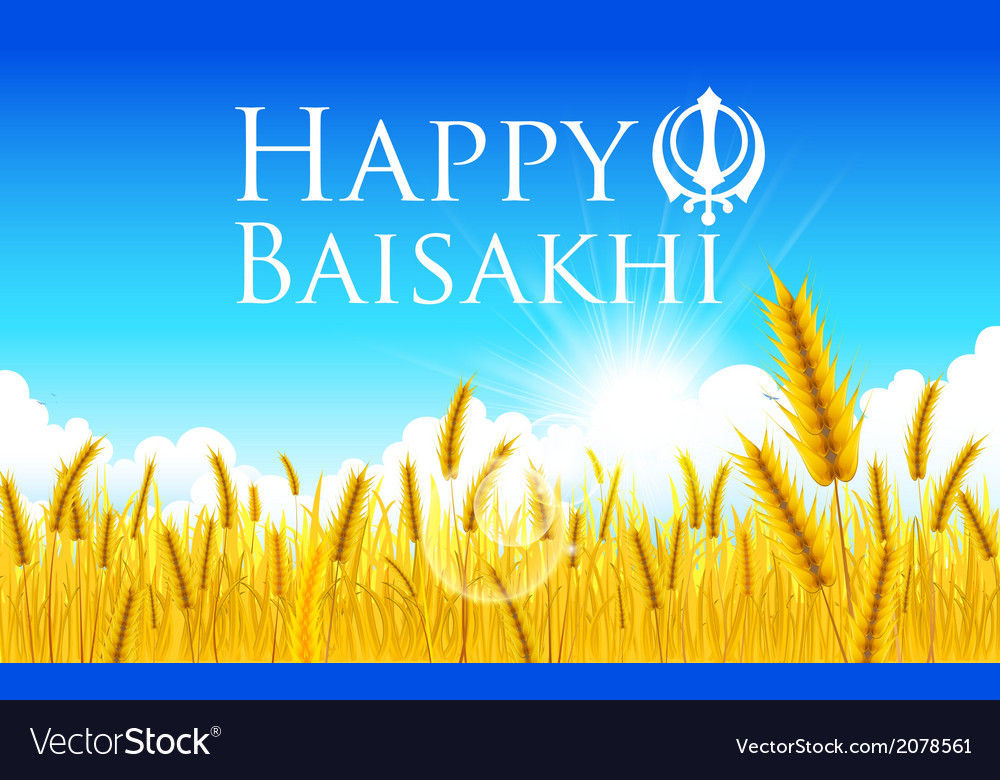 Happy baisakhi vector | Price: 1 Credit (USD $1)