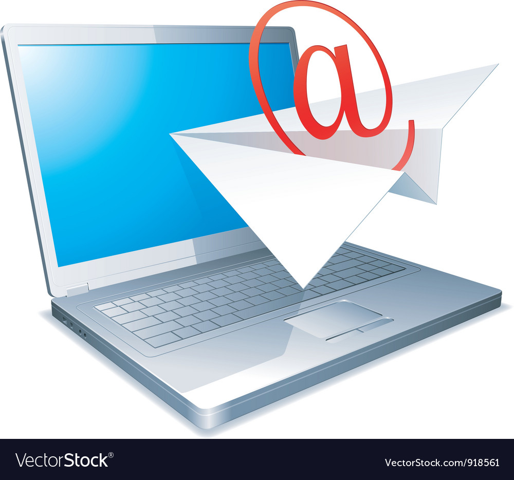 Sending e-mail concept vector | Price: 1 Credit (USD $1)