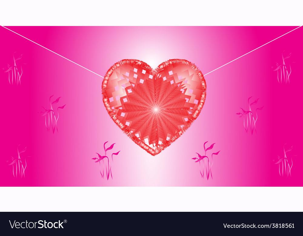 Valentines love letter vector | Price: 1 Credit (USD $1)