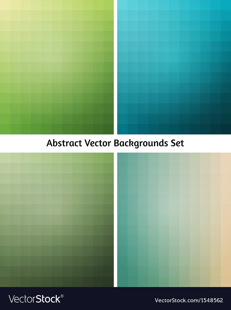 Abstract backgrounds collection flowing blend vector   Price: 1 Credit (USD $1)