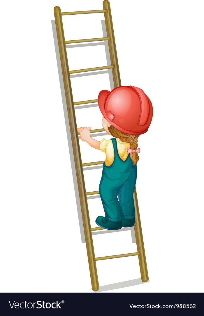 Construction ladder vector | Price: 3 Credit (USD $3)