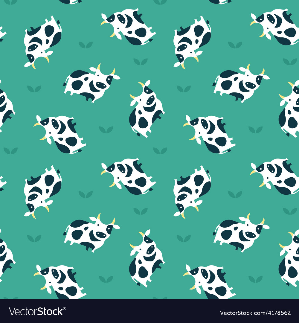 Cow pattern vector | Price: 1 Credit (USD $1)