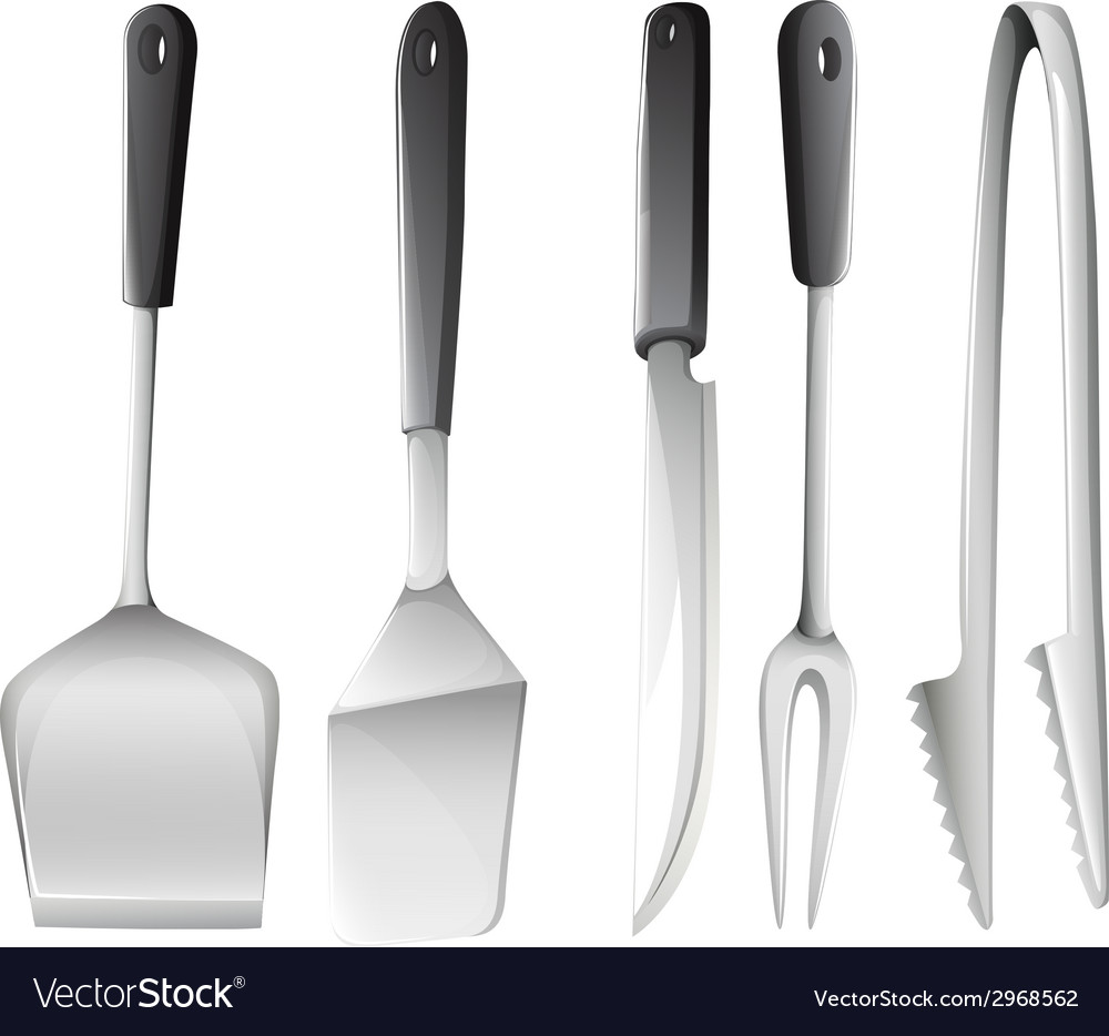 Different cooking utensils vector | Price: 1 Credit (USD $1)