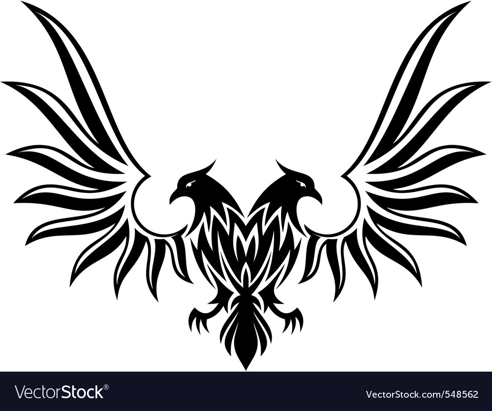 Double headed eagle vector | Price: 1 Credit (USD $1)