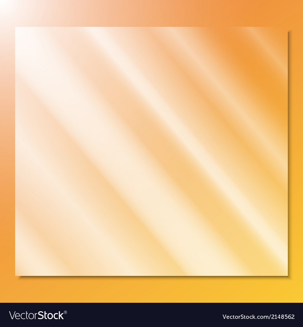 Transparent glass on a yellow background vector | Price: 1 Credit (USD $1)