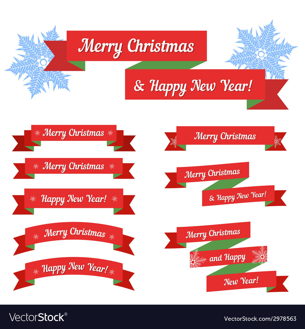 Christmas sale set vector | Price: 1 Credit (USD $1)