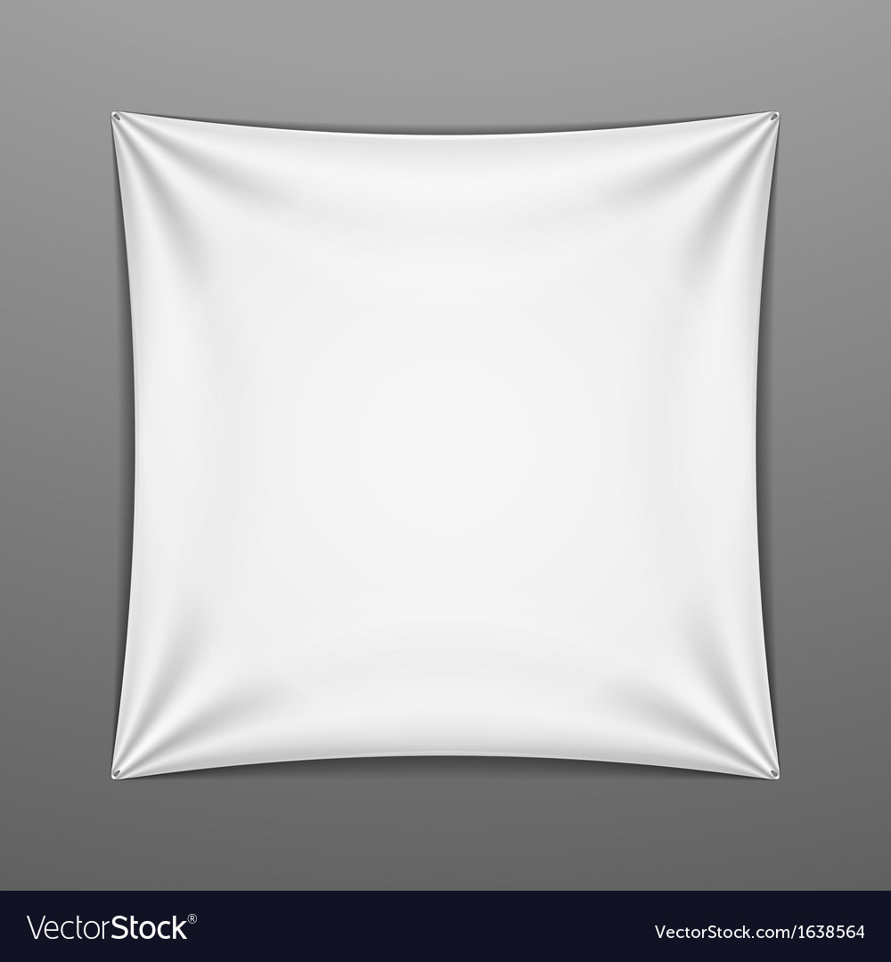White stretched square shape with folds vector | Price: 1 Credit (USD $1)