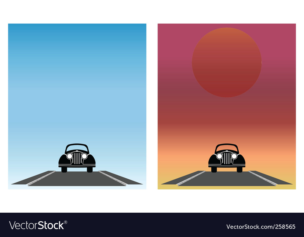 Car set vector | Price: 1 Credit (USD $1)