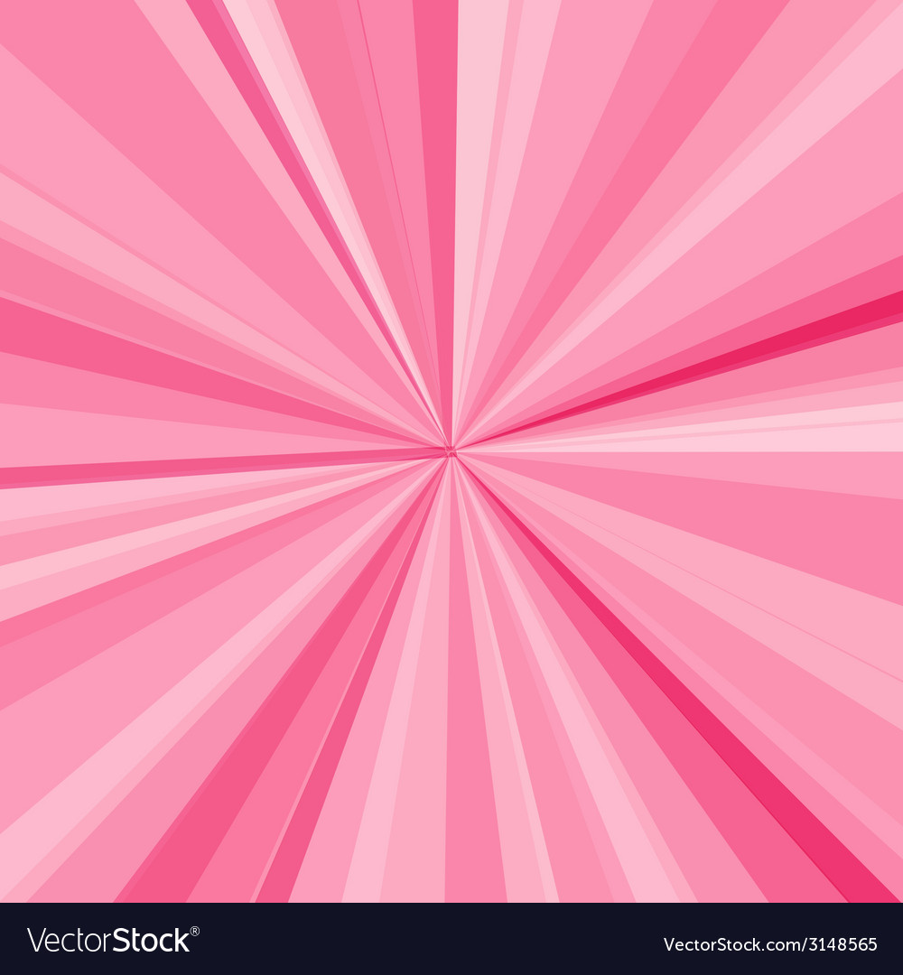 Pink rays background for your bright beams design vector | Price: 1 Credit (USD $1)