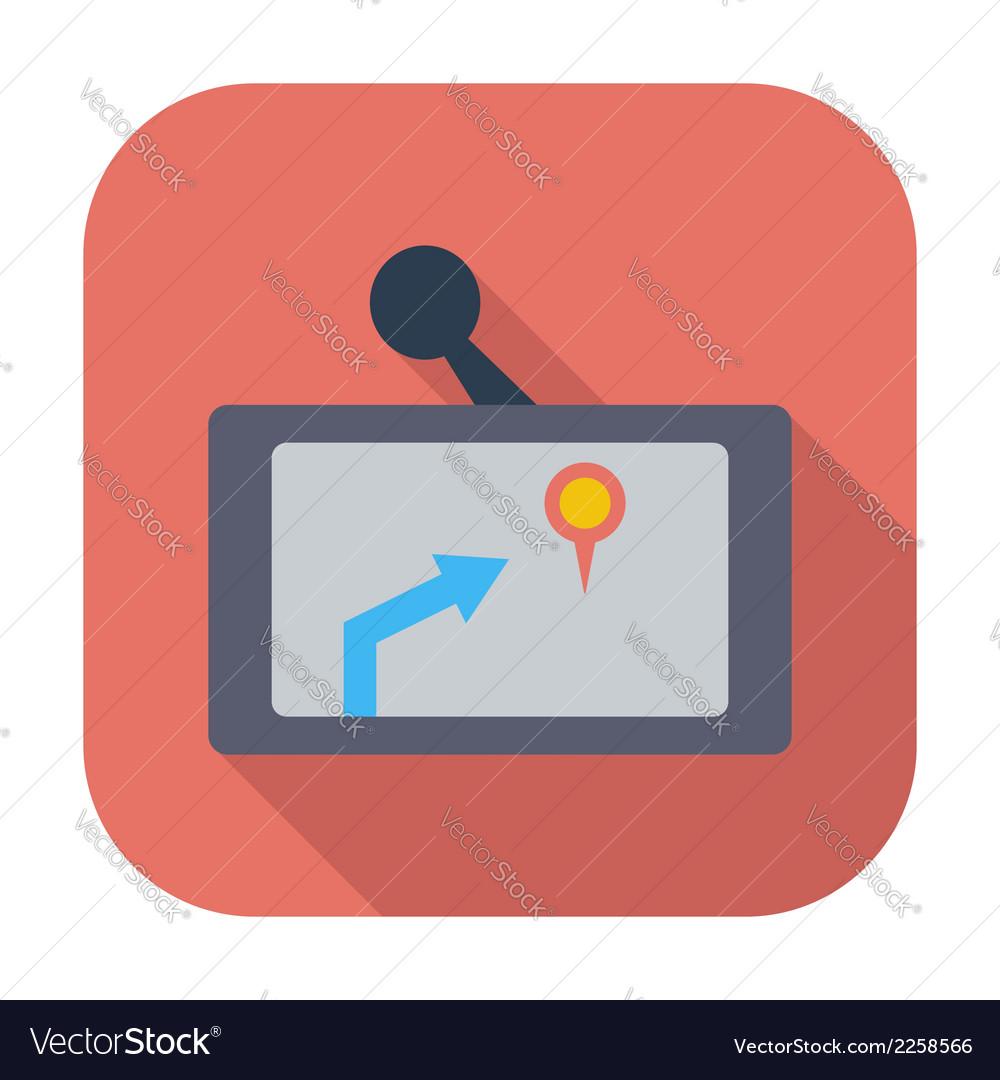 Gps navigator icon vector   Price: 1 Credit (USD $1)