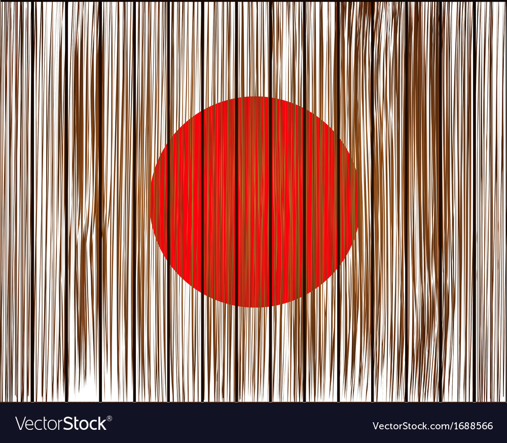 Grunge japan flag eps10 vector | Price: 1 Credit (USD $1)