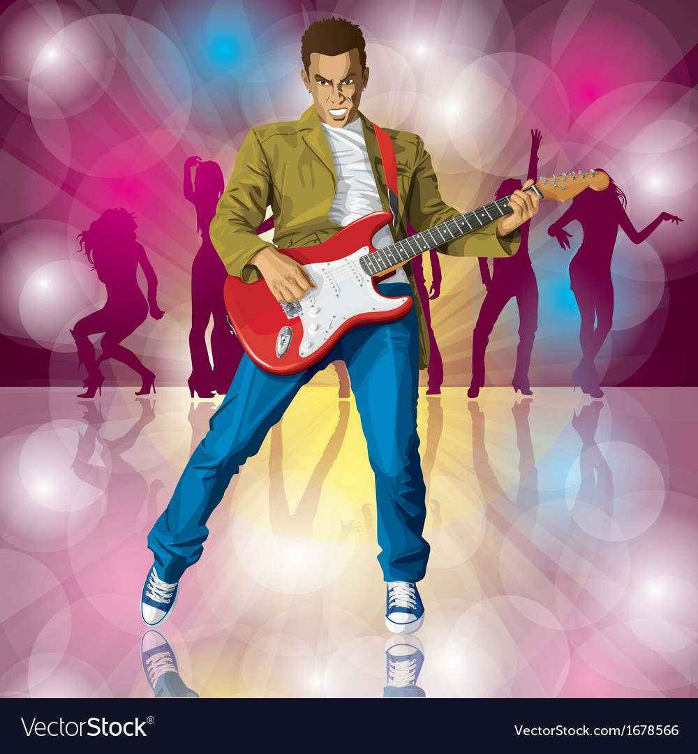 Musician vector | Price: 3 Credit (USD $3)