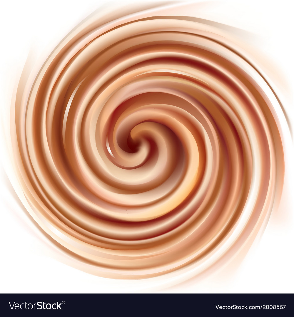 Background of swirling creamy texture vector | Price: 1 Credit (USD $1)