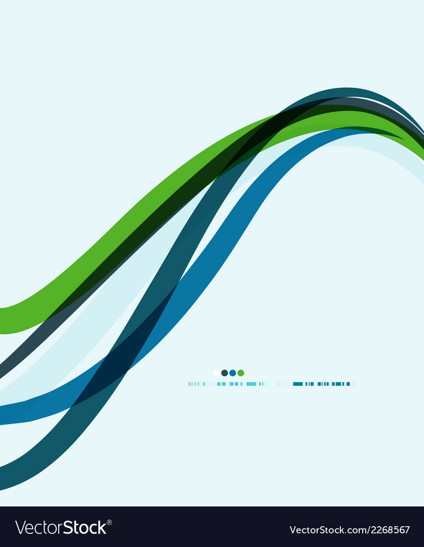 Modern geometric wavy lines composition vector   Price: 1 Credit (USD $1)