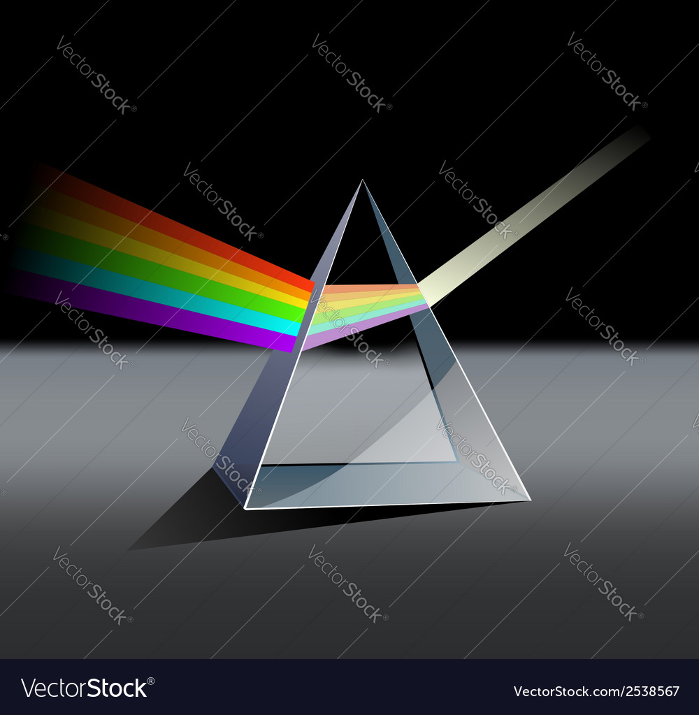 Prism spectrum vector | Price: 1 Credit (USD $1)