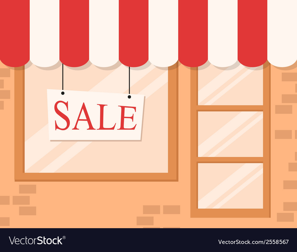 Store and market background vector | Price: 1 Credit (USD $1)