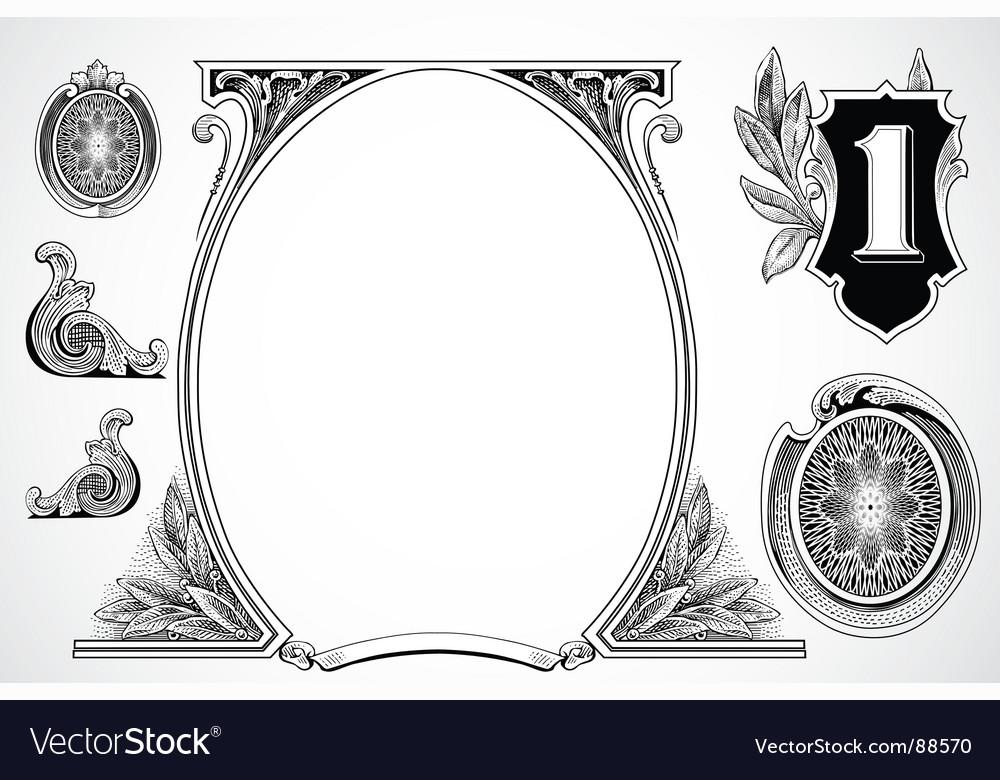 Money elements vector   Price: 1 Credit (USD $1)