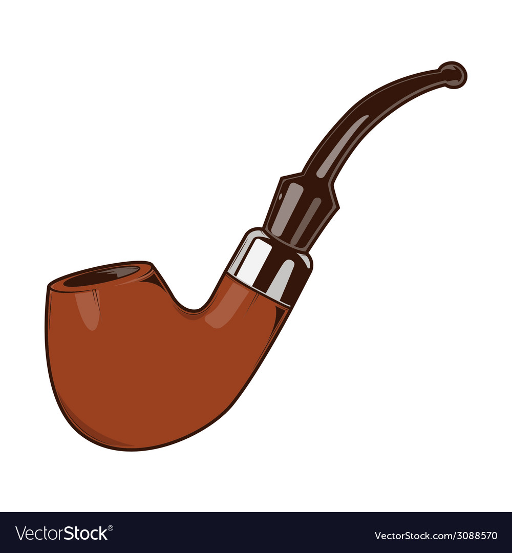 Smoke pipe vector | Price: 1 Credit (USD $1)