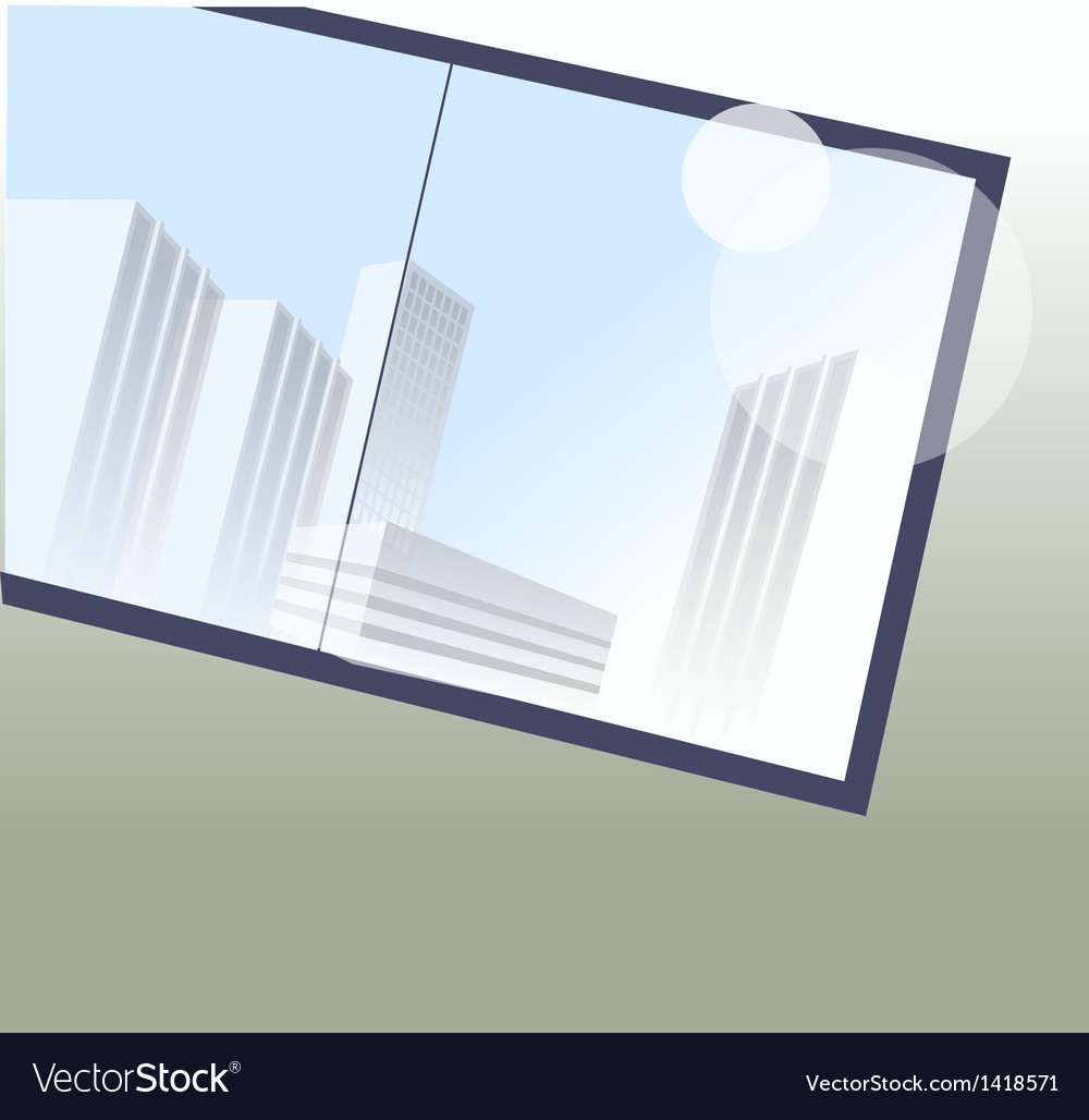 Picture frame on wall vector   Price: 1 Credit (USD $1)