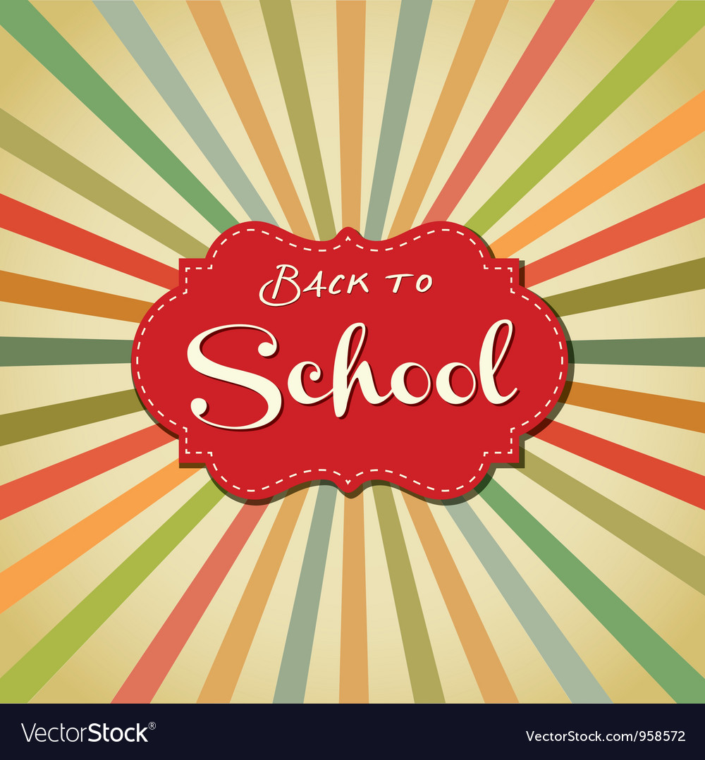 Back to school image vector | Price: 1 Credit (USD $1)