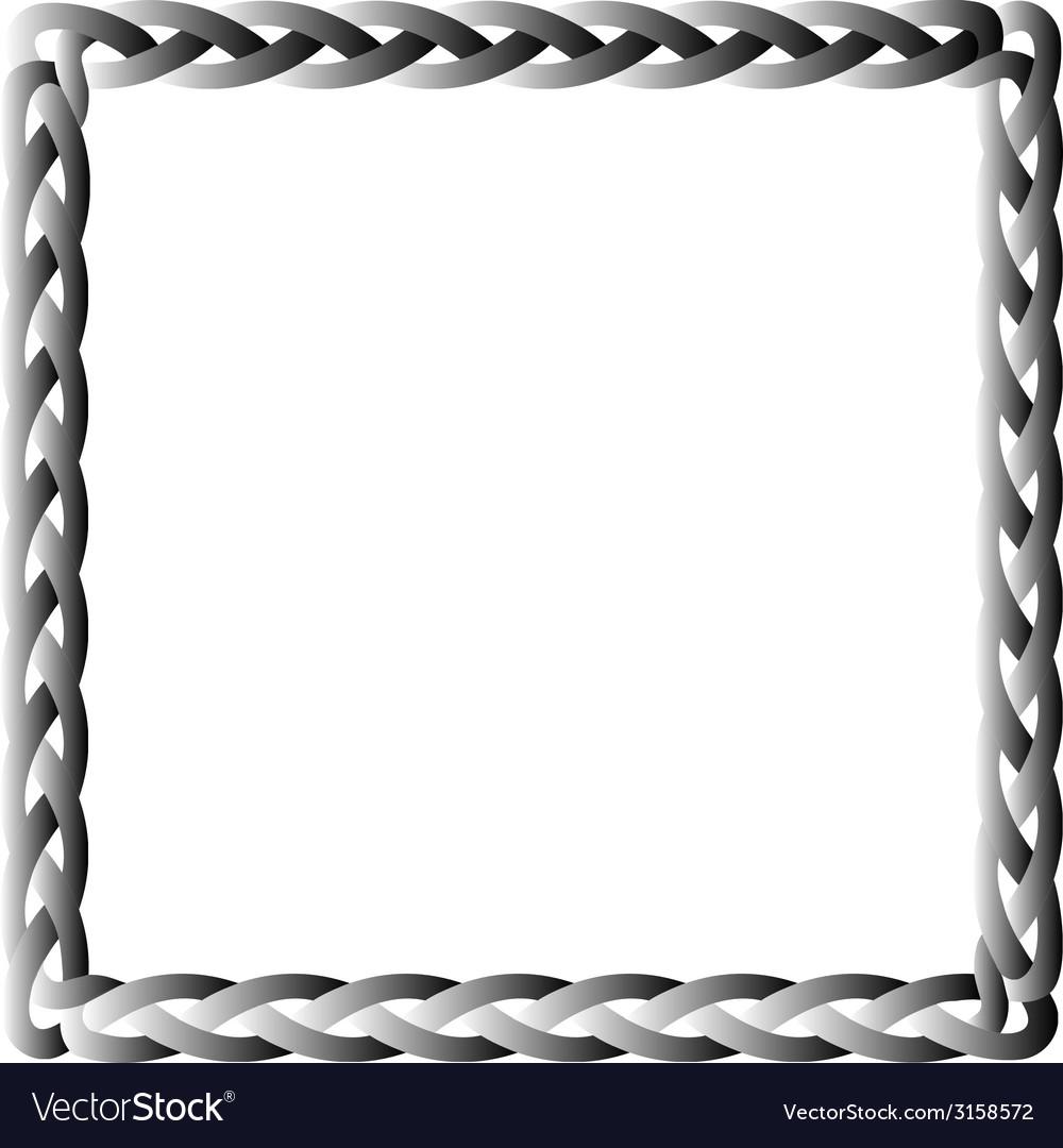 Black box braid vector | Price: 1 Credit (USD $1)