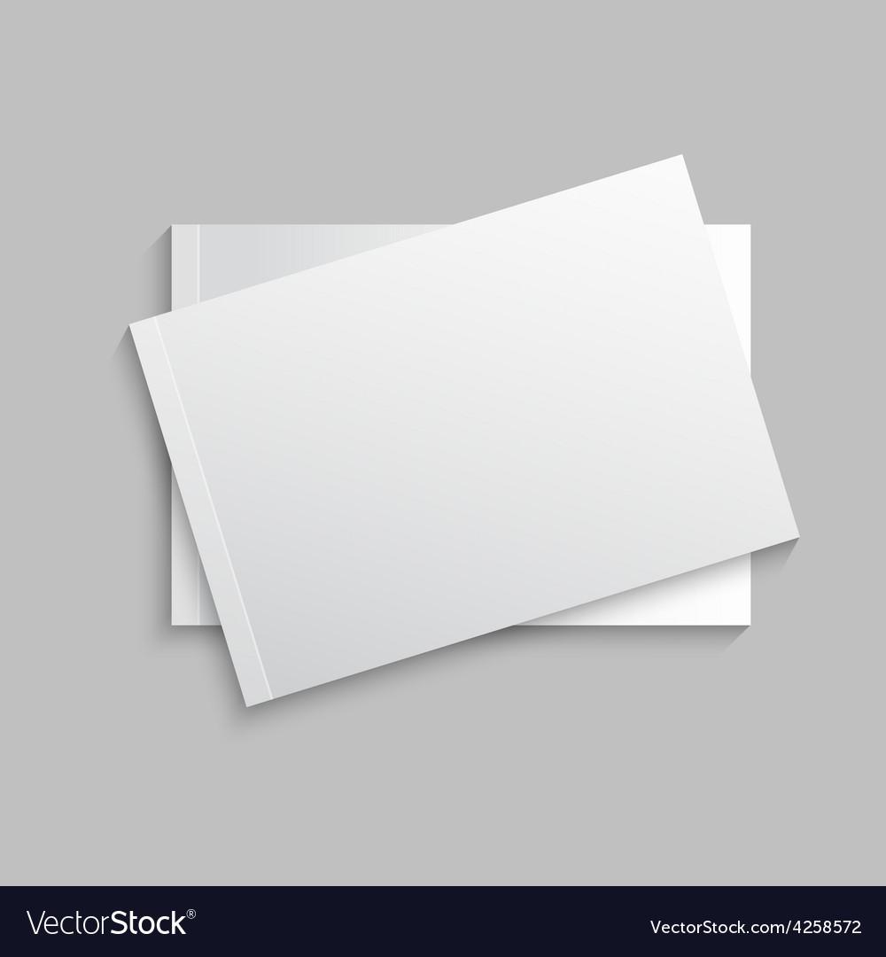 Blank empty magazine vector | Price: 1 Credit (USD $1)