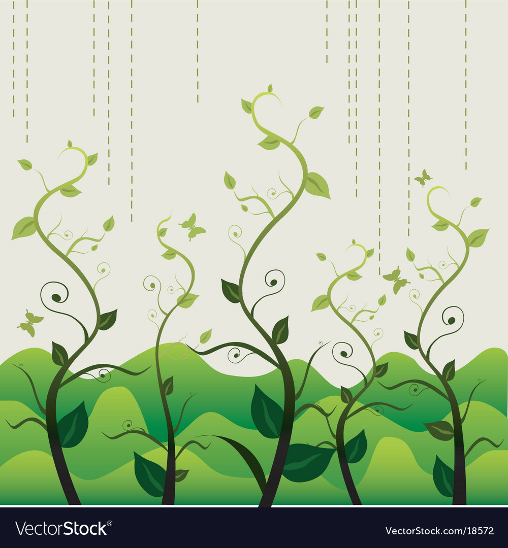 Garden growing design vector | Price: 1 Credit (USD $1)
