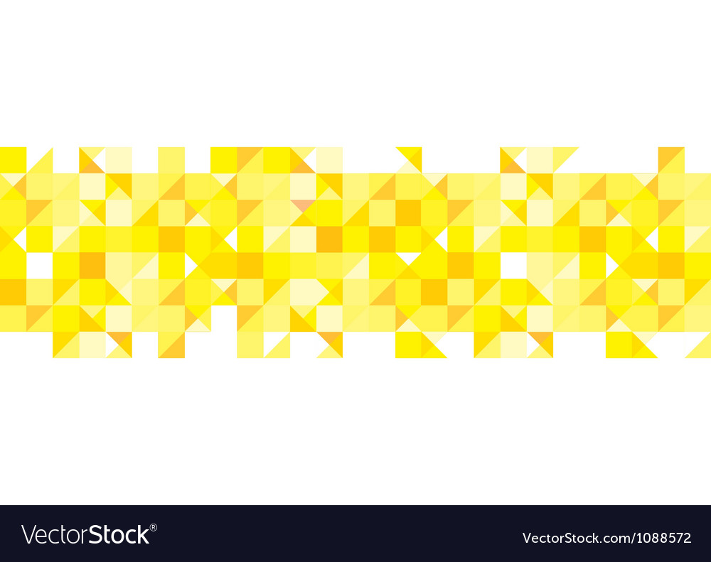 Yellow pattern background vector | Price: 1 Credit (USD $1)